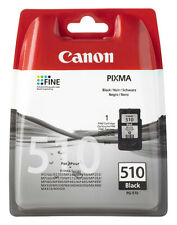 Original Canon pg-510 tinta cartuchos PIXMA mp250 mp280 mp495 mp270 mp490
