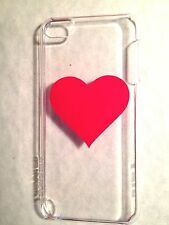 Incase Hardshell Snap Case Apple iPod touch 5th Gen. Clear Red Heart CL56689