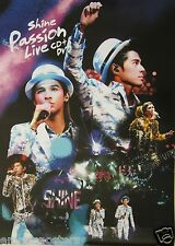 "SHINE ""PASSION LIVE"" ASIAN PROMO POSTER - Wong Yau-Nam / Tsui Tin-Yau"