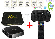 X96mini Smart Android 7.1.2 TV Box S905W Quad Core 4K 1G 8G + Wireless Keyboard