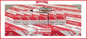 TOYOTA 4RUNNER, TACOMA, TUNDRA, T100 SPARK PLUG SET OF 6 GENUINE OEM 90919-01192
