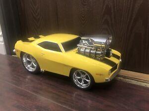 "1969 Camaro Remote Control RC Large Hot Rod Car Muscle Machine 16"""