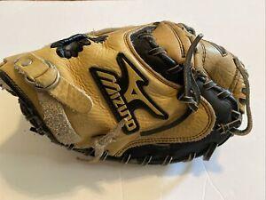 Mizuno GXC 100 Power Close  Catcher's Mitt Leather Prospect Series RHT