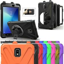 Hand Stand Protective Case Cover For Samsung Galaxy Tab Active2 8.0 2017 T390