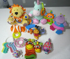 Big Lot Infant Baby Developmental Toys Texture-Soft Toys-Teething-Rattles, etc.
