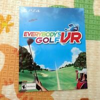 🔥 New Everybody's Golf VR FULL Game Download Card Sony PlayStation 4 PS4 PSVR