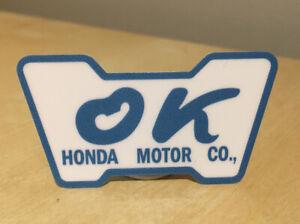 Honda/Acura OK Decal