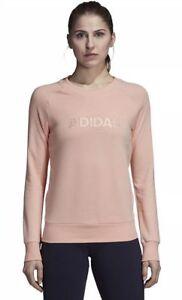 Adidas Women's Essential All Caps Allcaps Crew Neck Sweatshirt - XLarge XL