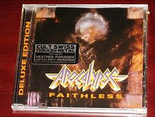 Apocalypse: Faithless - Deluxe Edition CD 2016 Bonus Track Divebomb DIVE106 NEW