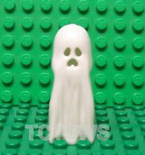 Lego Castle Kingdom, Knights, White Ghost Headgear Head GLOW IN THE DARK NEW