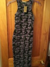 BNWT Ladiies Size 6 River Island Floral Patterned Sleeveless Dress