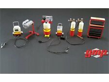 GMP 1/18 18869 SHELL OIL GARAGE ACCESSORY SET FOR 1/18 DIECAST CAR GMP18869