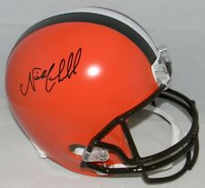 NICK CHUBB AUTOGRAPHED SIGNED CLEVELAND BROWNS FULL SIZE HELMET JSA