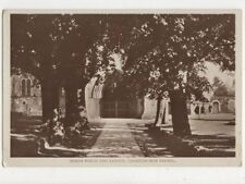 North Porch & Avenue Christchurch Priory Vintage RP Postcard 602a