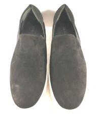 Vince Black Suede Warren Slip On Fashion Sneakers Womens Size US 9.5M
