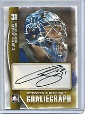Curtis Joseph 13/14 ITG Between The Pipes Autograph