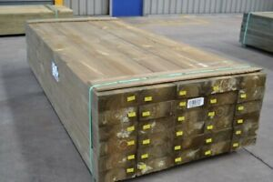 Treated Pine Sleepers 200x75mm x 2.4mt - Retaining Wall Garden Boxing Sand Pits