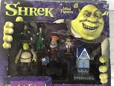 Shrek Mini Figures Shrek & Friends McFarlane Toys Playset New Rare Collectible