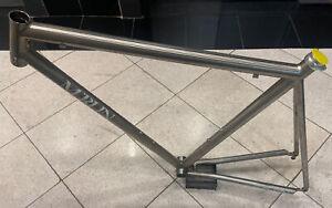 Merlin titanium road bike frame - Exc cond! - 52.5 cm C-C, 56.5 cm C-T
