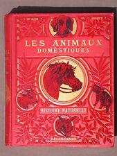 Les animaux domestiques Histoire naturelle Flammarion Moeurs intelligence Voogt