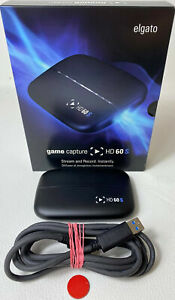 Elgato HD 60 S Game Capture stream konsole ps4 xbox switch pc gebraucht in OVP