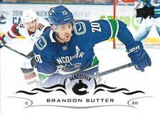 Brandon Sutter #423 - 2018-19 Series 2 - Base