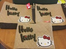Hello Kitty Set Of 3 Matching Bags, Shopping, Large Travel Hand Bag Brand New