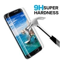 For Samsung Galaxy S7 Edge 100% Genuine Tempered Glass Screen Protector Clear