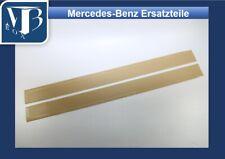 N006/ Mercedes W107 Einstiegleisten Gummibelag Schweller Creme NEU