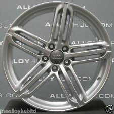 "GENUINE AUDI TT/TTS 19""INCH 5 TRI -SEGMENT SPOKE SILVER SINGLE ALLOY WHEEL X1 9J"