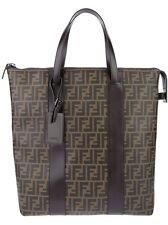 100% AUTHENTIC NEW FENDI MEN OR WOMEN ZUCCA FF LOGO SHOPPING TOTE BAG
