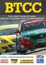 BTCC British Touring Car Championship - Official Review 2007 (2 DVD set) New