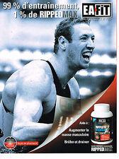 PUBLICITE ADVERTISING 094  2010  RIPPED médicament  par ALAIN BERNARD