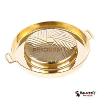 BRASS PAN BBQ GRILL Steak Meat Beef Table Top THAI [PAN ONLY] 28cm