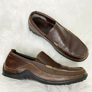 Cole Haan Mens 8.5 Vibram Tucker Venetian Slip On Leather Loafers Shoes C04059