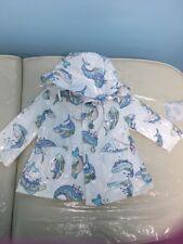 KENZO Kids Rain Coat Jacket With Hat Size 12M
