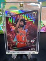2019-20 Donruss Optic Coby White My House! Holo Prizm Rookie RC Bulls Silver