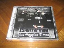 Chicano Rap CD Mr. Capone-E - Los Angeles Times Mixtape - Mr. Criminal Crazy Boy