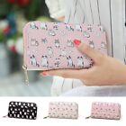 Women Girls Purse Leather Long Wallet Clutch Card Holder Handbag Coin Bag HOT