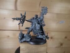 KIT BASHED PLASTIC WARHAMMER CHAOS SPACE MARINE SORCERER UNPAINTED (L)