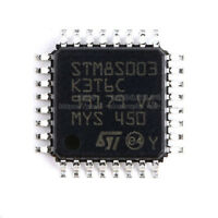 10PCS Original STM8S003K3T6C Microcontroller 8-bit VALUELINE Series LQFP-32