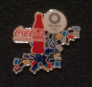 COCA COLA BOTTLE TOKYO 2020 OLYMPIC PIN