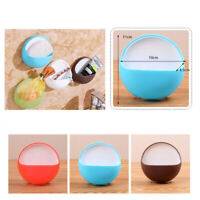Suction Cup Soap Bathroom Shower Toothbrush Box Holder
