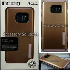 Incipio DualPro SHINE Samsung Galaxy S7 EDGE Slim Case Cover Rose Gold / Pink