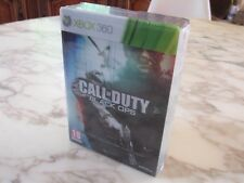 Call of Duty COD Black Ops Edition Collector Hardened VF Xbox 360 NEUF