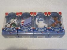 Rudolph Red-Nosed Reindeer Young Buck Bumble Sam Snowman Santa Figurines 4 Lot