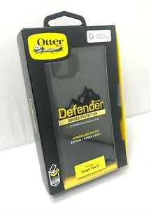 NEW Otterbox Defender Rugged Case with Holster for Google Pixel 4 - Black