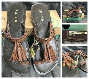 New Roper Betsy sandals, sz 11