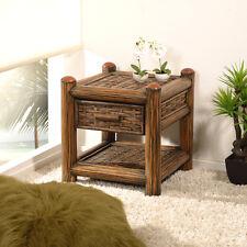 handgearbeitete nachttische nachtkonsolen mit 1. Black Bedroom Furniture Sets. Home Design Ideas