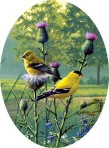 BUFFALO Hautman Bro.  COUNTRY MORNING GOLDFINCH Birds 750 pcs CAMEO / New Sealed